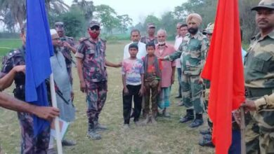 BSF handed over two Bangladeshi children to BGB