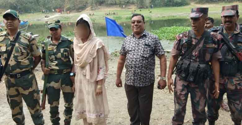 BSF rescued kidnapped daughter of silver smuggler safely from Bangladeshi miscreants