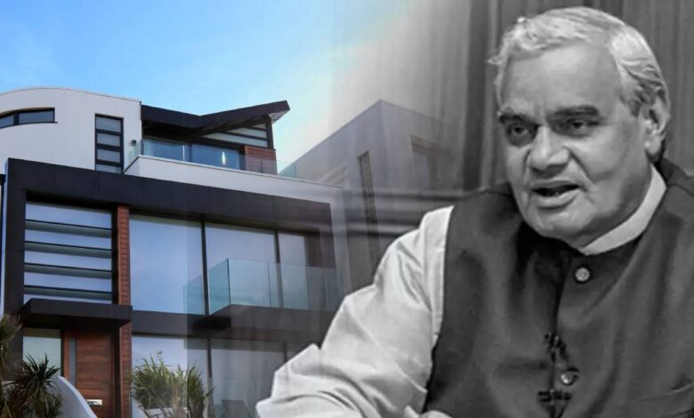 How much was Atal Bihari Vajpayee's property and who got it